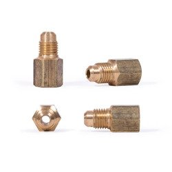 "Brass fitting M1/4""SAE x F1/8"" NPT   7150/21 / U3-4A"