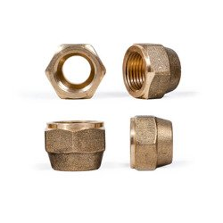 "Flare Nut brass 3/8"" x 10 mm 7030/3M10 / NS4-6M10"
