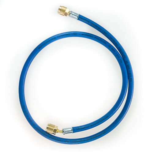 "Charging hose REFCO CL-36-1/2""-20UNF BLUE"